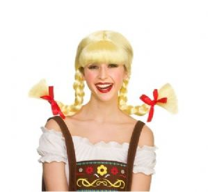 Funny Bavarian Beer Girl Wig (EW8404)